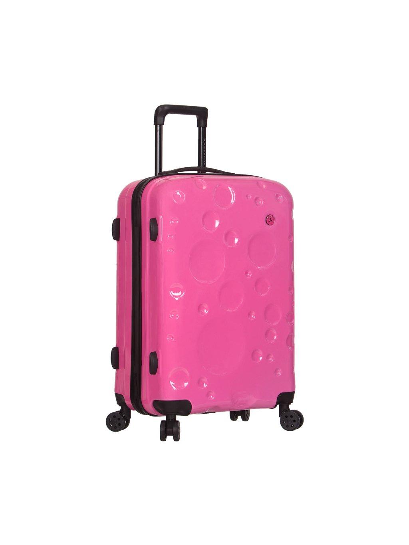 Cestovní kufr SIROCCO T-1194/3-M PC - růžová