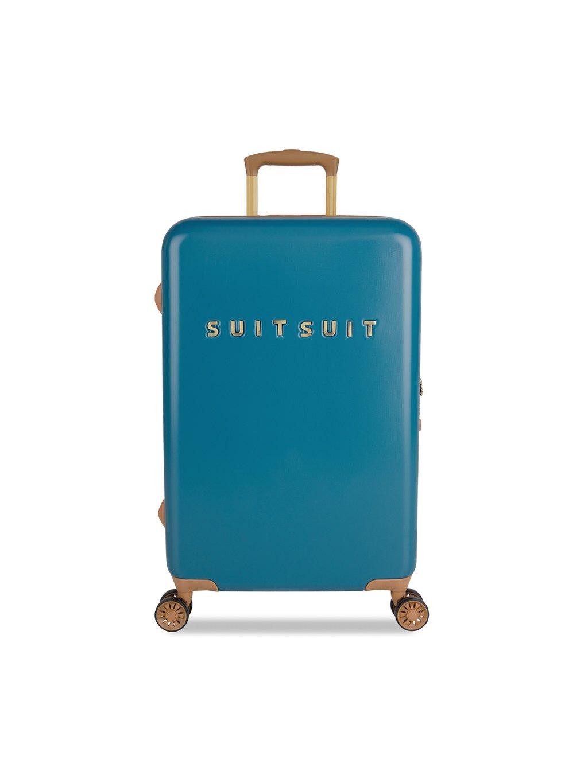 Cestovní kufr SUITSUIT® TR-7102/3-M - Fab Seventies Seaport Blue