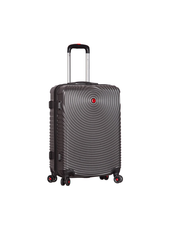 Kabinové zavazadlo SIROCCO T-1157/3-S ABS - charcoal