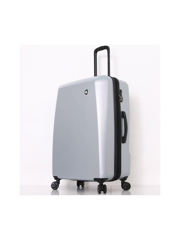 Cestovní kufr MIA TORO M1713/3-L - stříbrná