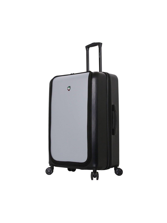 Cestovní kufr MIA TORO M1709/2-L - černá/stříbrná