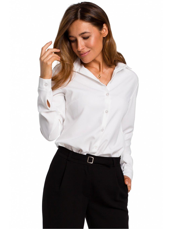 Košile s dlouhým rukávem model 135935 Style