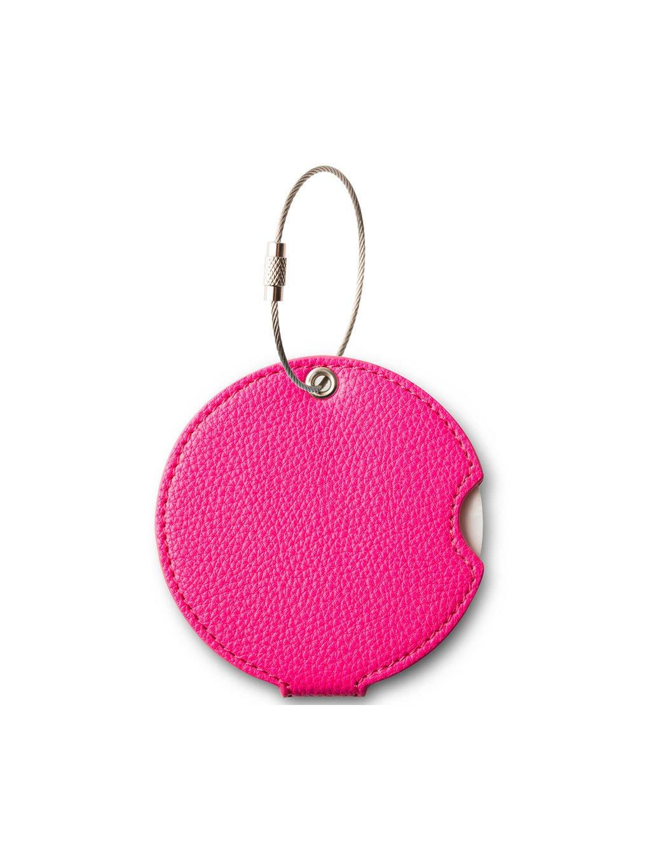 Jmenovka na kufr Addatag PU - Bubbelgum pink