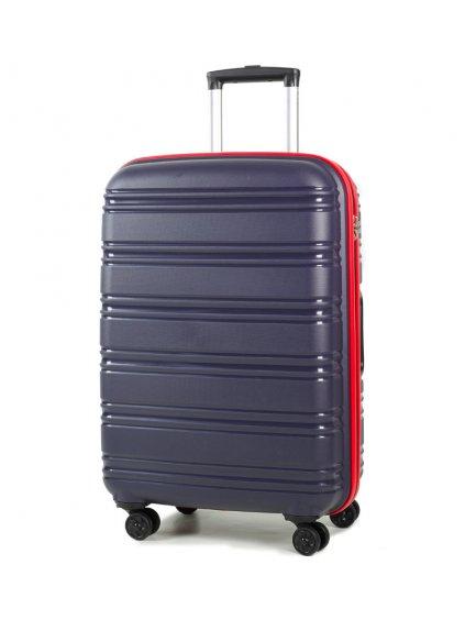 Cestovní kufr ROCK TR-0164/3-M PP - modrá/červená