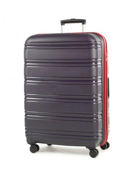 Cestovní kufr ROCK TR-0164/3-L PP - modrá/červená