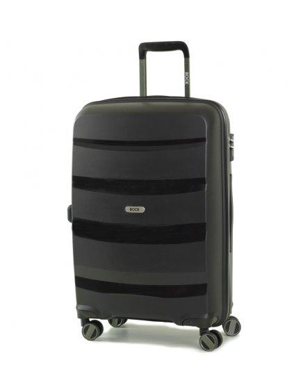 Cestovní kufr ROCK TR-0174/3-M PP - černá