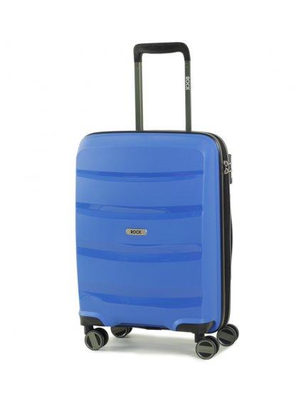 Kabinové zavazadlo ROCK TR-0174/3-S PP - modrá