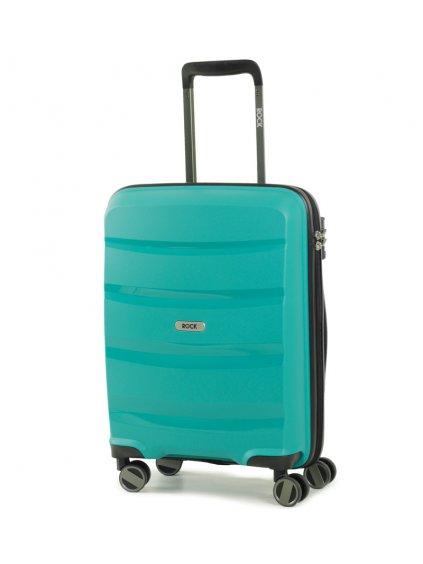 Kabinové zavazadlo ROCK TR-0174/3-S PP - zelená