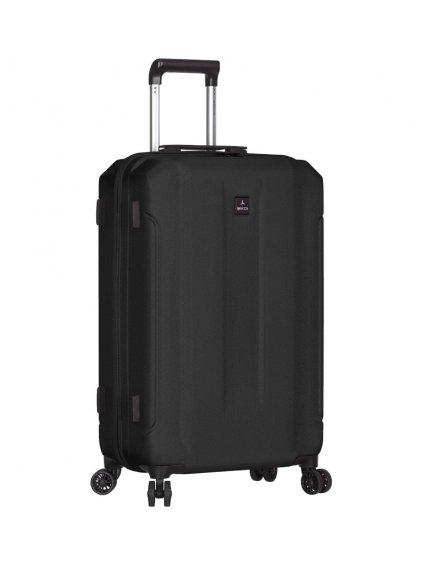 Cestovní kufr SIROCCO T-1177/3-L ABS - černá