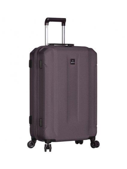 Cestovní kufr SIROCCO T-1177/3-M ABS - šedá
