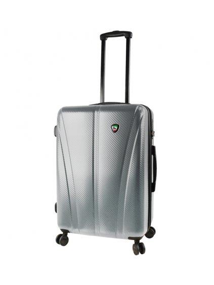 Cestovní kufr MIA TORO M1238/3-M - stříbrná