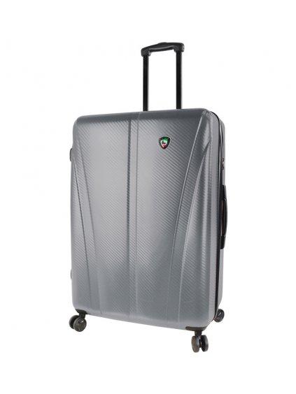 Cestovní kufr MIA TORO M1238/3-L - stříbrná