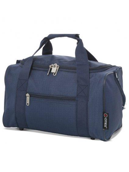 Cestovní taška CITIES 611 - modrá