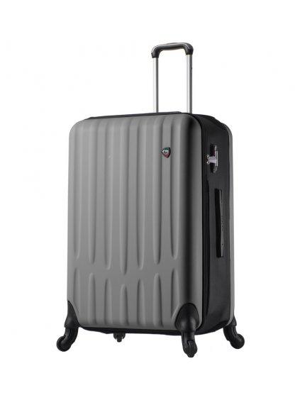 Cestovní kufr MIA TORO M1301/3-L - stříbrná