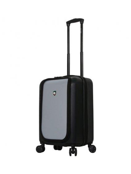 Cestovní kufr MIA TORO M1709/2-S - černá/stříbrná