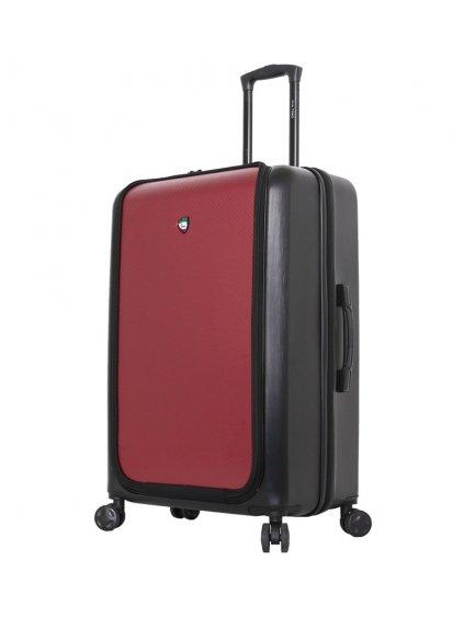 Cestovní kufr MIA TORO M1709/2-L - černá/vínová