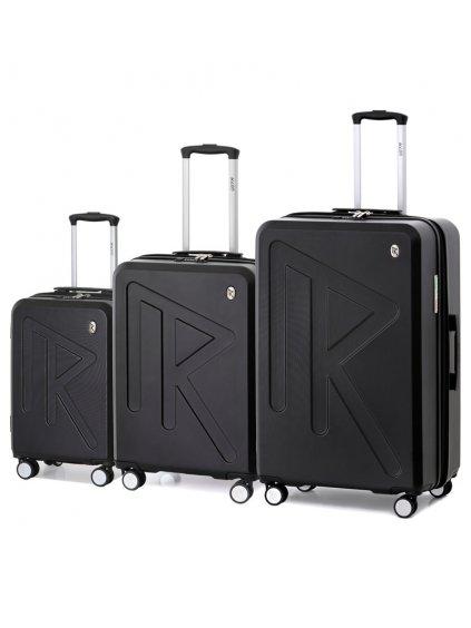 Sada cestovních kufrů Raido Numero Uno Black Mood Line