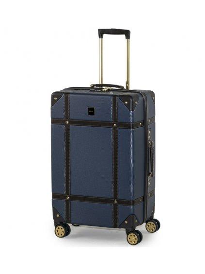 Cestovní kufr ROCK TR-0193/3-M ABS - modrá