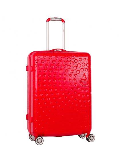 Cestovní kufr AEROLITE T-565/3-M ABS - červená