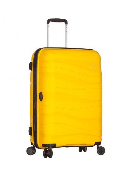 Kabinové zavazadlo SIROCCO T-1233/3-S PC - žlutá