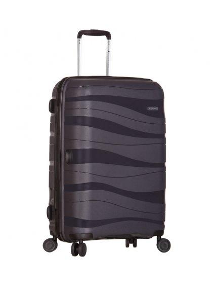 Cestovní kufr SIROCCO T-1233/3-L PC - šedá