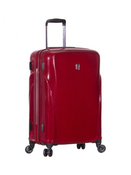 Cestovní kufr ROCK TR-0180/3-M PC - vínová