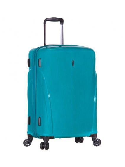Cestovní kufr ROCK TR-0180/3-L PC - tyrkysová
