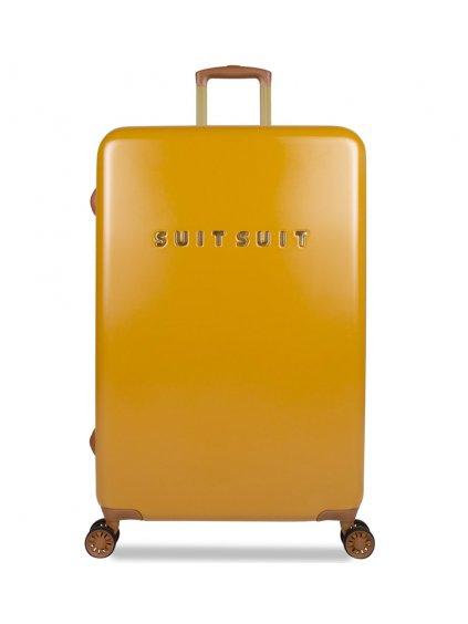 Cestovní kufr SUITSUIT® TR-7107/3-L - Fab Seventies Lemon Curry