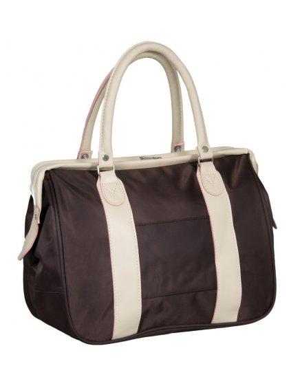 Cestovní taška REAbags LL39 - hnědá