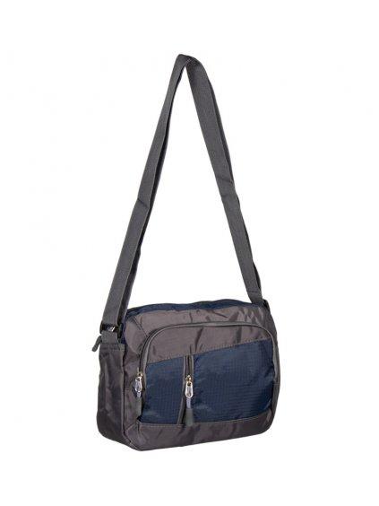 Taška přes rameno REAbags LL21 - šedá/tmavě modrá