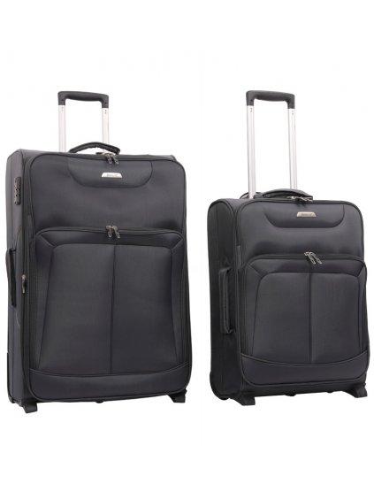Sada cestovních kufrů AEROLITE T-9985/2 - šedá