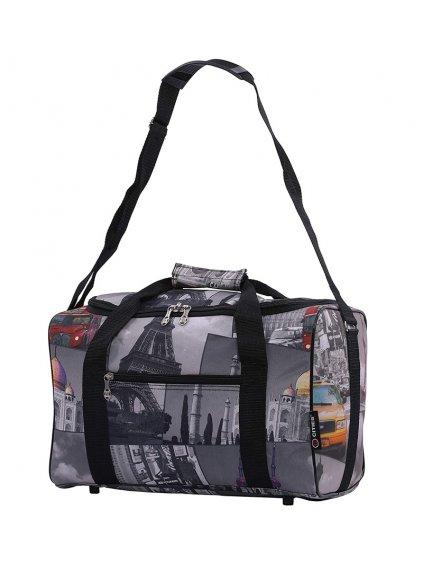 Cestovní taška CITIES 611 - šedá