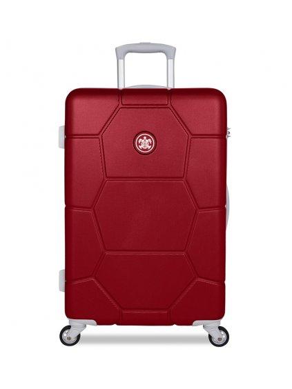 Cestovní kufr SUITSUIT® TR-1263/3-M ABS Caretta Cherry