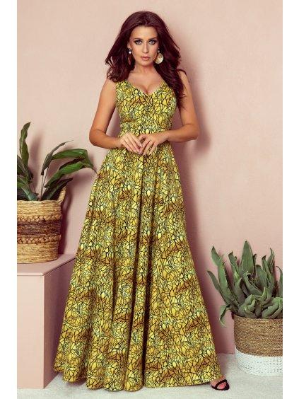 Dlouhé šaty model 134966 Numoco
