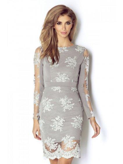 Večerní šaty model 142835 IVON