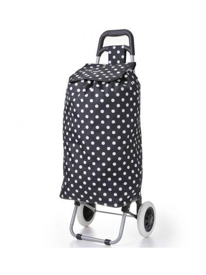 Nákupní taška na kolečkách HOPPA ST-205 - černá