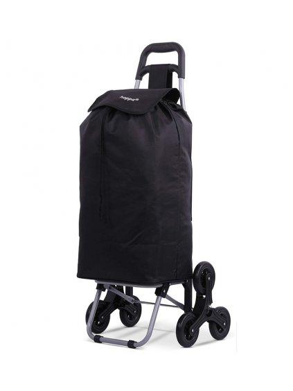 Nákupní taška na kolečkách HOPPA ST-501 - černá