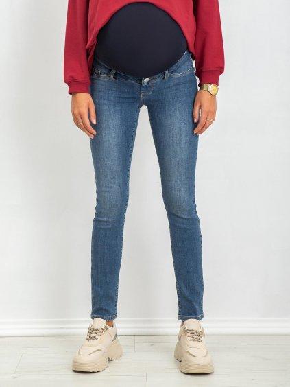 Spodnie jeans-20-SP-HK78.56P-modrá