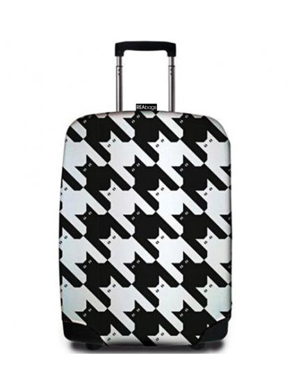 Obal na kufr REAbags® 9069 Pied de Chat