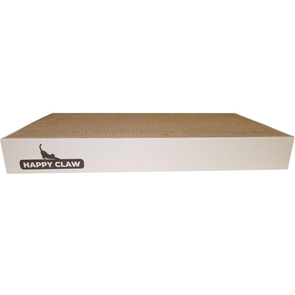 Kartonové škrabadlo XL bílá - HappyClaw