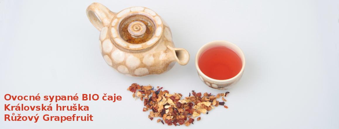 Ovocné BIO čaje