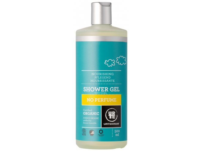 Urtekram Sprchový gel bez parfemace BIO 500ml