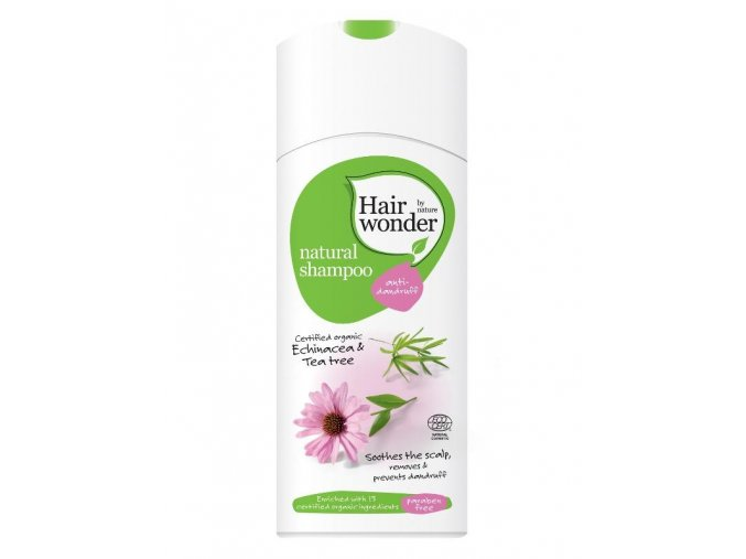 Hairwonder Přírodní šampon proti lupům 200ml