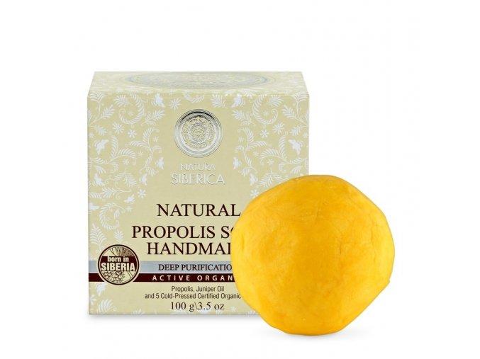 natura siberica propolisove rucne vyrabene mydlo