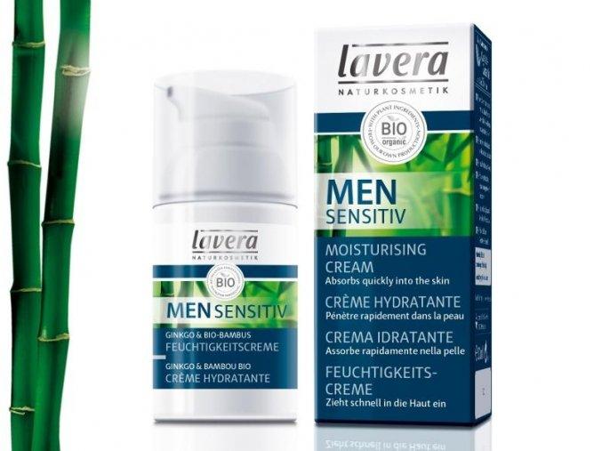 Lavera Men Sensitiv Hydratační krém 30ml