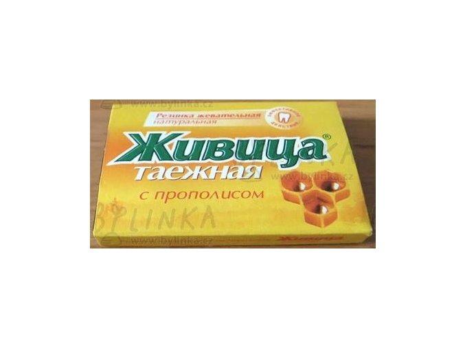 Sibiřská žvýkací pryskyřice s propolisem 5 tablet