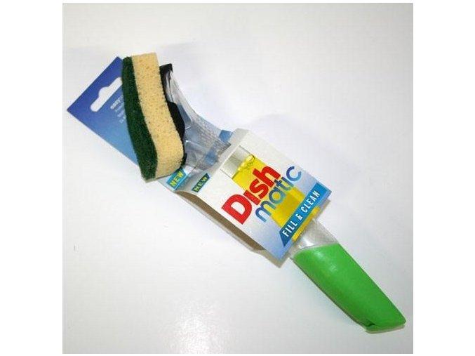 EcoForce Dishmatic násada s houbičkou a nádrží na saponát