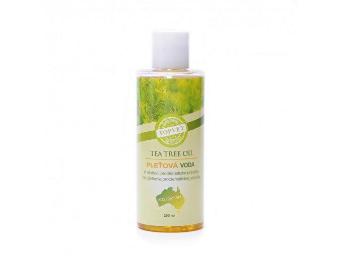 Topvet Tea tree oil pantenol pleťová voda 200ml