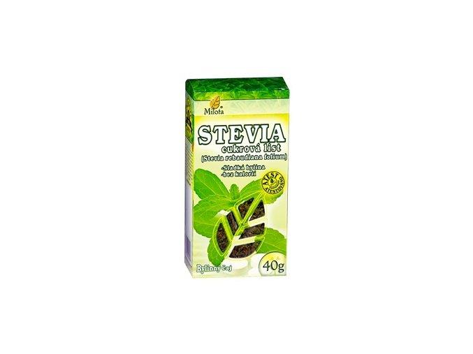 Milota Stevie cukrová - sladká tráva 40g