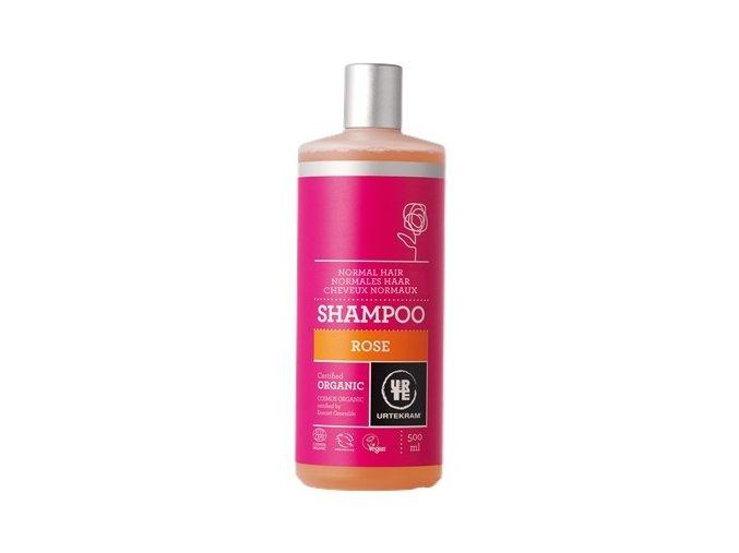 Urtekram Šampón růžový na normální vlasy BIO 500ml